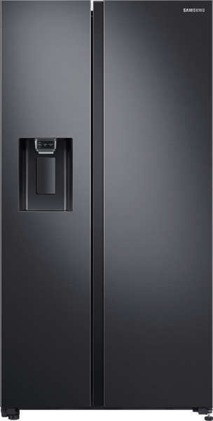 676L SIDE BY SIDE FRIDGE - MATTE BLACK