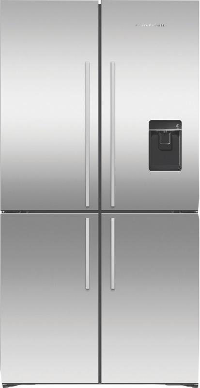 Fisher & Paykel 605L Variable Temperature Zone Quad Door Fridge RF605QDUVX1