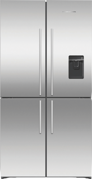 Fisher & Paykel 605L Variable Temperature Zone Quad Door Fridge RF605QDUVX1