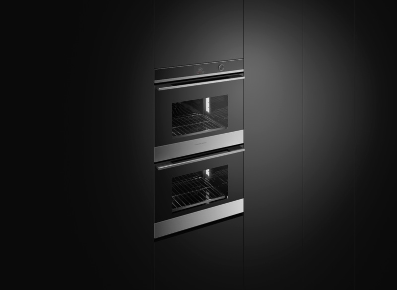 Fisher & Paykel 76cm Built-In Pyrolytic Double Oven - Stainless Steel OB76DDPTDX1