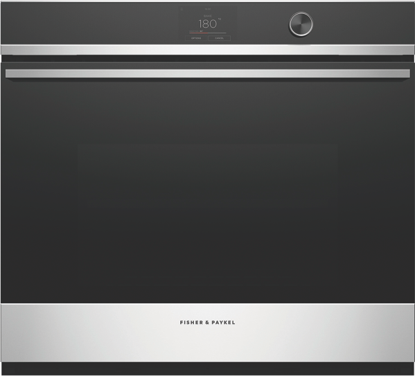 76CM BUILT-IN PYROLYTIC OVEN - STAINLESS STEEL