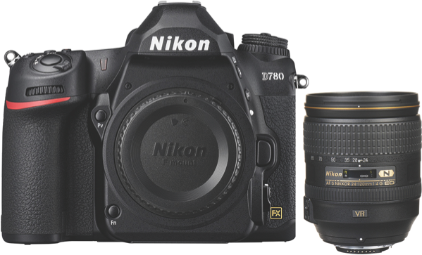 Nikon D780 Digital SLR Camera + AFS 24-120mm Lens Kit VBK560XA