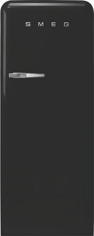 Smeg 270L Freestanding Fridge - Black FAB28RBL3AU