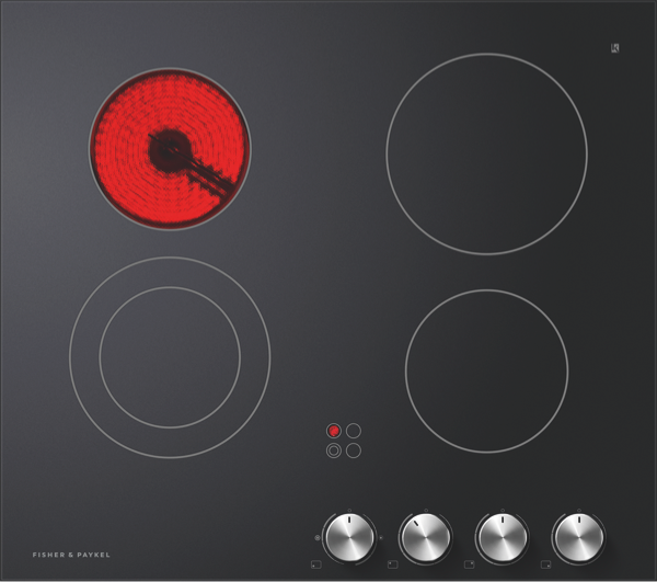 60CM CERAMIC COOKTOP - BLACK