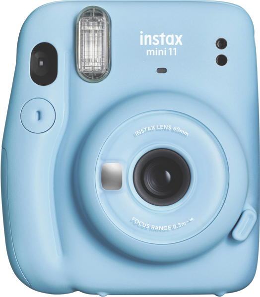 INSTAX MINI 11 INSTANT CAMERA– SKY BLUE