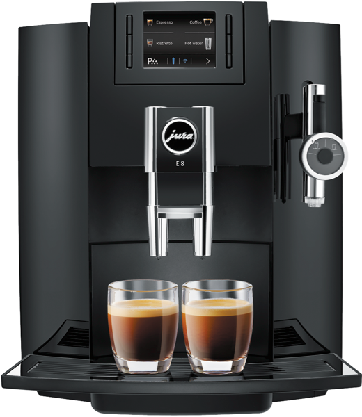 Jura E8 Piano Black Coffee Machine 15094