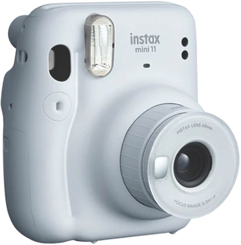 Fujifilm Instax Mini 11 Instant Camera– Ice White 87014