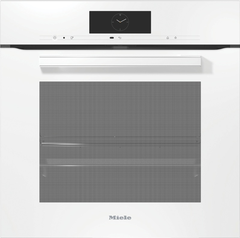Miele 60cm Built-in Pyrolytic Oven - White H7860BP VitroLine Brilliant White