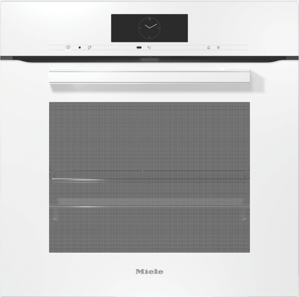60CM BUILT-IN PYROLYTIC OVEN - WHITE