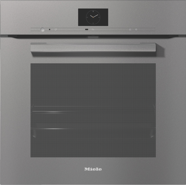 60CM BUILT-IN PYROLYTIC OVEN - GREY