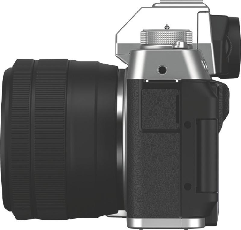 Fujifilm X-T200 Mirrorless Camera + XC 15-45mm Lens Kit - Silver 74381