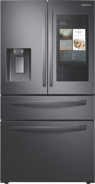 662L FRENCH DOOR FRIDGE - BLACK STAINLESS