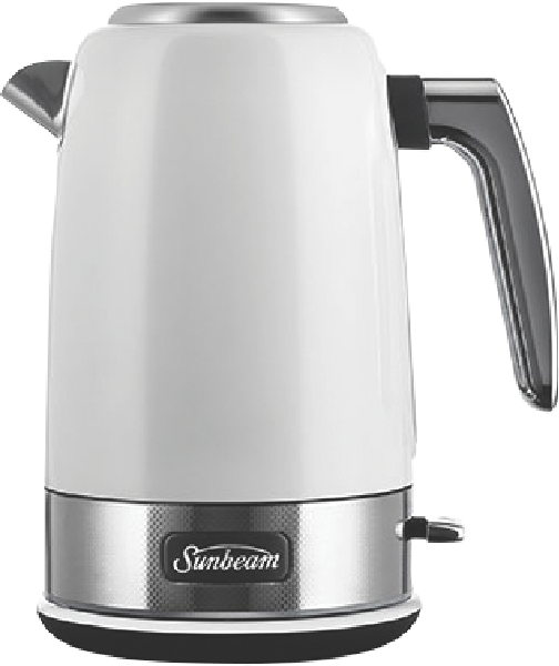 JUG KETTLE NEW YORK - WHITE SILVER