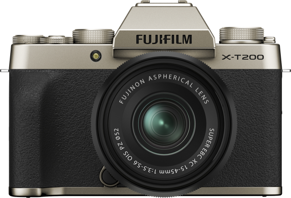 Fujifilm X-T200 Mirrorless Digital Camera with XC 15-45mm Lens 74383