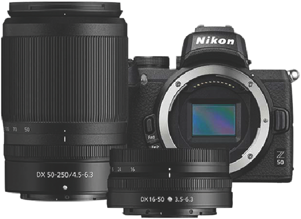Z 50 MIRRORLESS CAMERA + Z 16-50MM + Z 50-250MM LENS KIT
