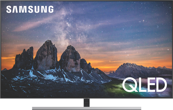 Samsung 55″ 4K Ultra HD Smart QLED TV QA55Q80RAWXXY
