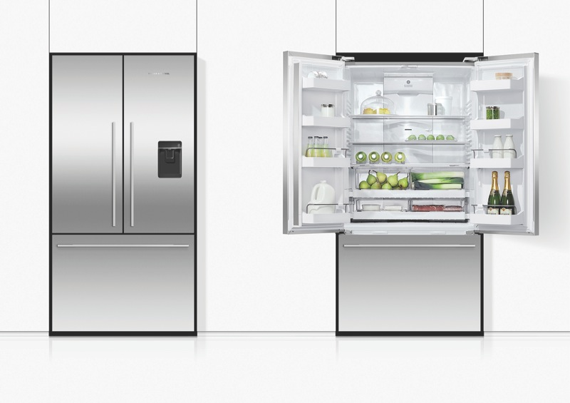 Fisher & Paykel 614L French Door Fridge with Ice & Water RF610ADUX5