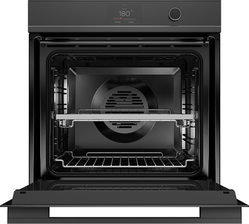Fisher & Paykel 60cm Built-In Pyrolytic Oven - Black OB60SDPTDB1