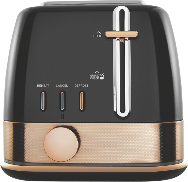 2SL TOASTER NEW YORK -  BLACK BRONZE