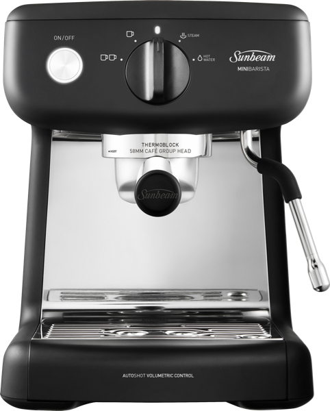 MINI BARISTA ESPRESSO MACHINE - BLACK