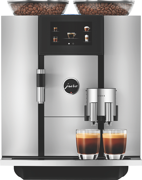 GIGA 6 FULLY AUTOMATIC COFFEE MACHINE - ALUMINUM