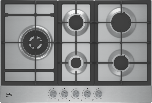75CM GAS COOKTOP - STAINLESS STEEL