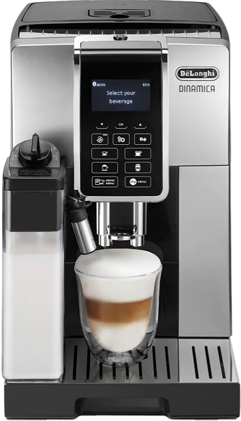 DINAMICA FULLY AUTOMATIC COFFEE MACHINE – SILVER & BLACK