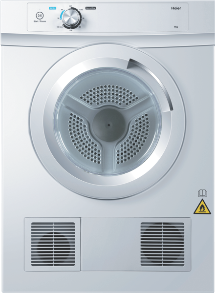 6KG VENTED DRYER – WHITE