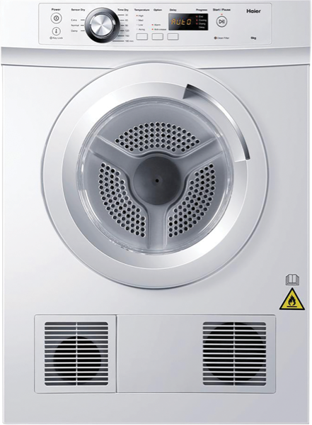 6KG SENSOR VENTED DRYER