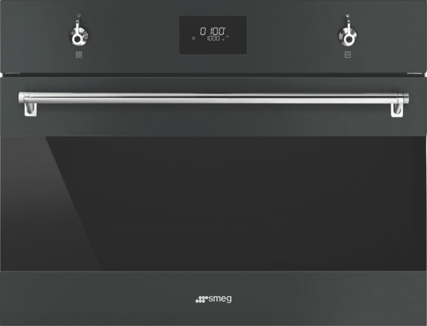 60CM BUILT-IN COMPACT SPEED OVEN - BLACK