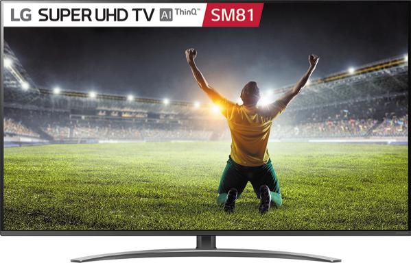 49″ SUPER UHD SMART LED LCD TV