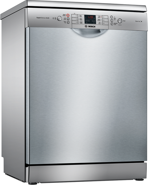 Bosch 60cm Freestanding Dishwasher - Stainless Steel SMS46GI01A