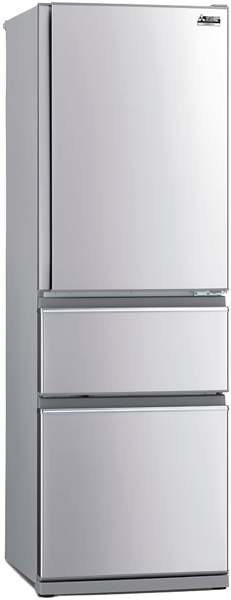 402L 3-DOOR BOTTOM MOUNT FRIDGE