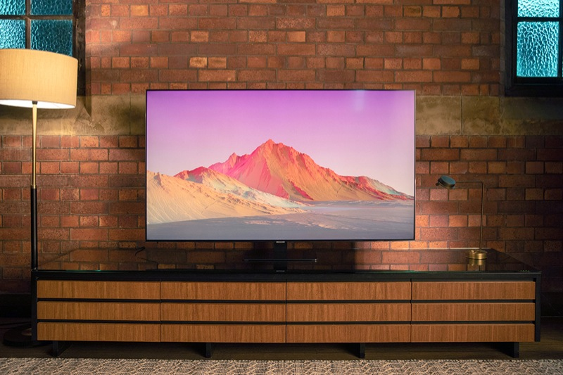 "Samsung 75"" Q80T 4K Ultra HD Smart QLED TV QA75Q80TAWXXY"