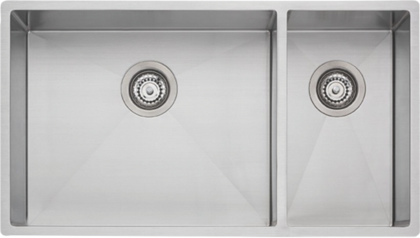 SPECTRA 1 & 1/2 BOWL SINK - STAINLESS STEEL