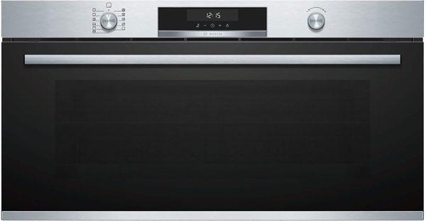 90CM BUILT-IN PYROLYTIC OVEN - STAINLESS STEEL