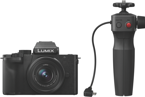 LUMIX G100 MIRRORLESS CAMERA + 12-32MM LENS KIT + GRIP