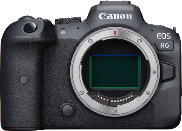 EOS R6 MIRRORLESS CAMERA (BODY ONLY)