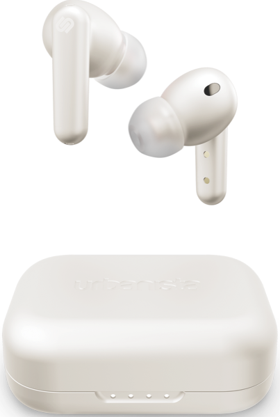 LONDON TRUE WIRELESS NOISE CANCELLING EARBUDS - WHITE PEARL