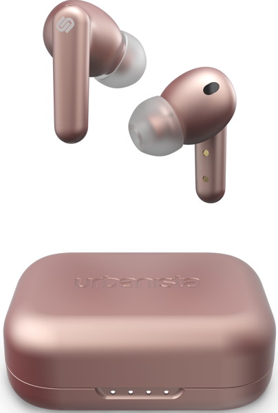 LONDON TRUE WIRELESS NOISE CANCELLING EARBUDS - ROSE GOLD