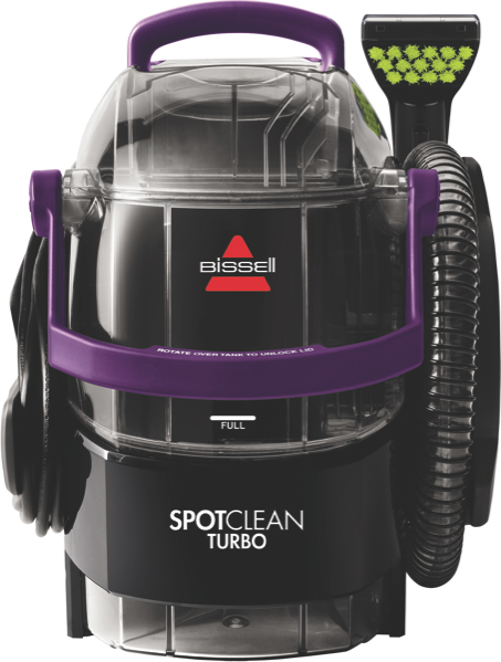 SPOTCLEAN TURBO CARPET CLEANER - BLACK/PURPLE