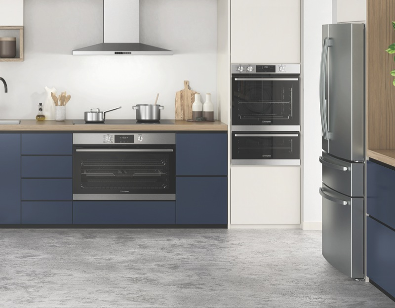Westinghouse 60cm Built-In Double Oven - Stainless Steel WVE665SC