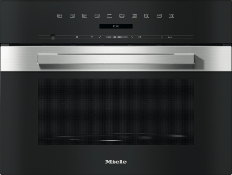 Miele 46cm Built-In Combi Microwave Oven - Clean Steel M7244TC