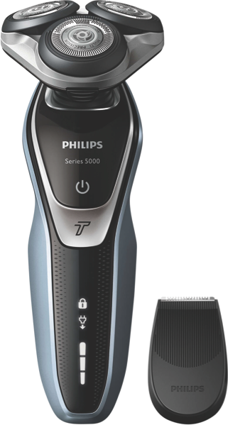 Philips Series 5000 Wet & Dry Shaver – Blue & Silver S538006