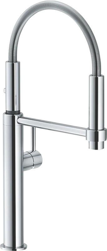 Franke Pescara Single Lever Pull Out Mixer Tap - Chrome TA7360