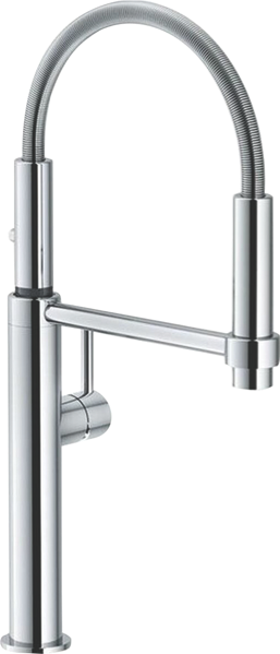 PESCARA SINGLE LEVER PULL OUT MIXER TAP - CHROME