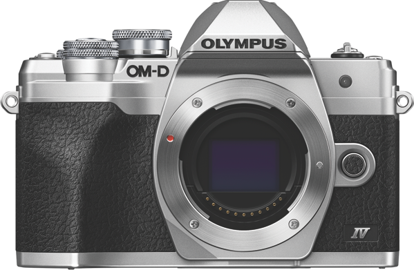 OM-D E-M10 MARK IV MIRRORLESS CAMERA (BODY ONLY) - SILVER