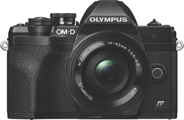 OM-D E-M10 MARK IV MIRRORLESS CAMERA + 14-42MM LENS KIT