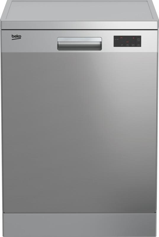 Beko 60cm Freestanding Dishwasher - Stainless Steel BDF1410X