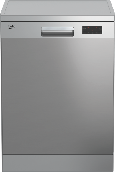 Beko 60cm Freestanding Dishwasher - Stainless Steel BDF1410X